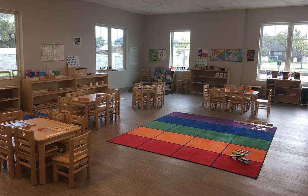 Shining Stars Montessori School Classroom 1